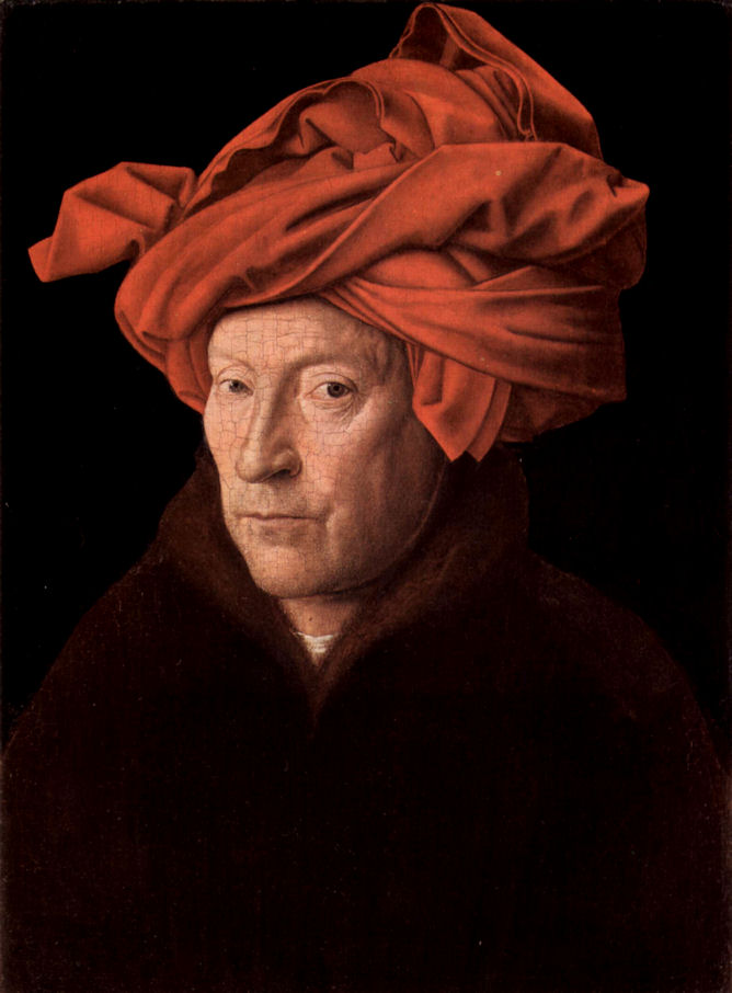 a review of man in a red turban by jan van eyck Close sale portrait of a man (man in a red turban) | jan van eyck 1433  jan  van eyck 1433 read 1200+ customer reviews  read more customer reviews.