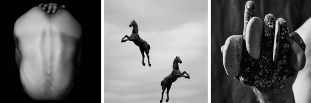 BS #1, Jumping Horses and Stoned Hand, by ©Gonzalo Bénard