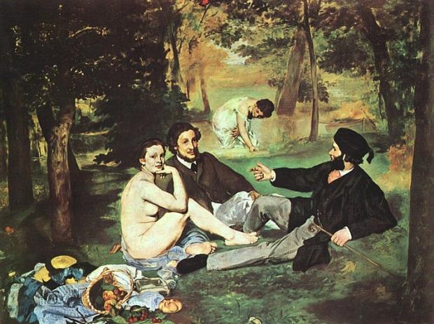 Le Dejeuner sur l'Herbe, by Manet