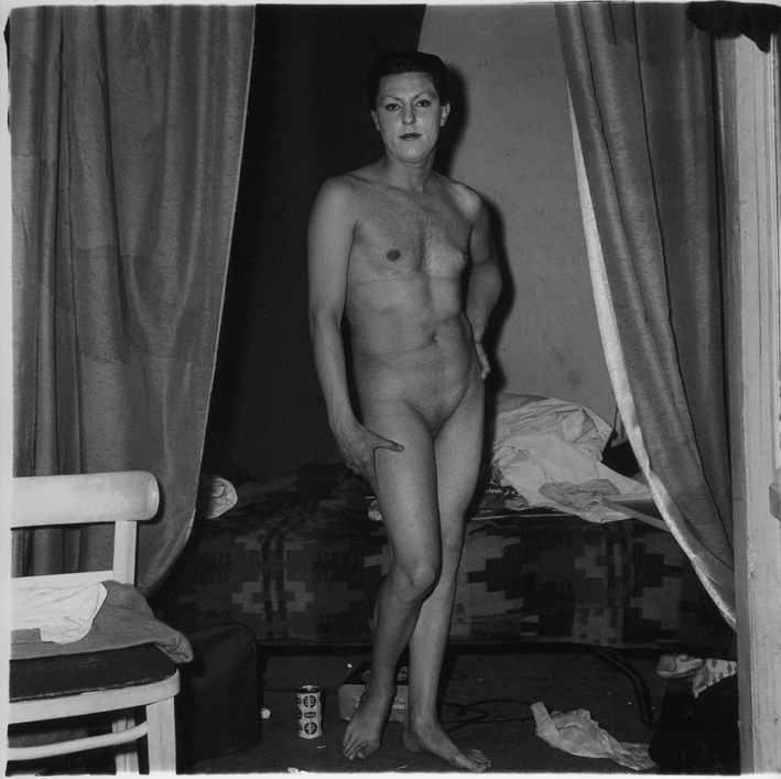 Man Being a Woman, by ©Diane Arbus
