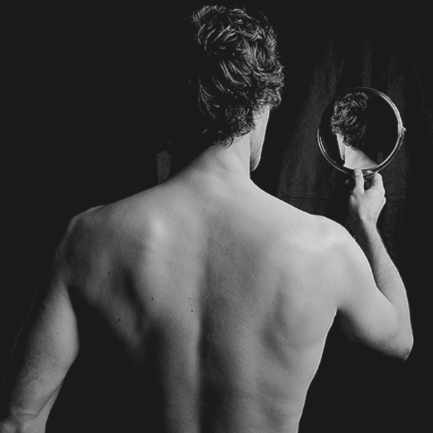 Self-Portrait with Mirror, 2007, by ©Gonzalo Bénard