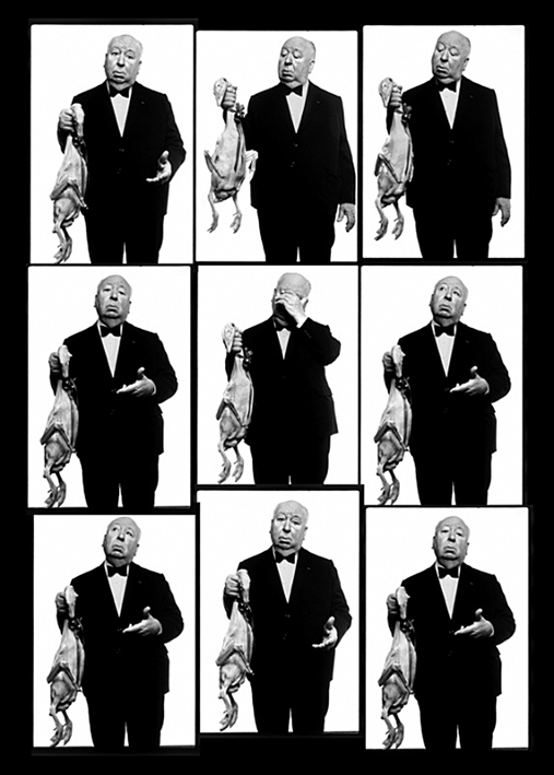 Contact Sheet of Hitchcock