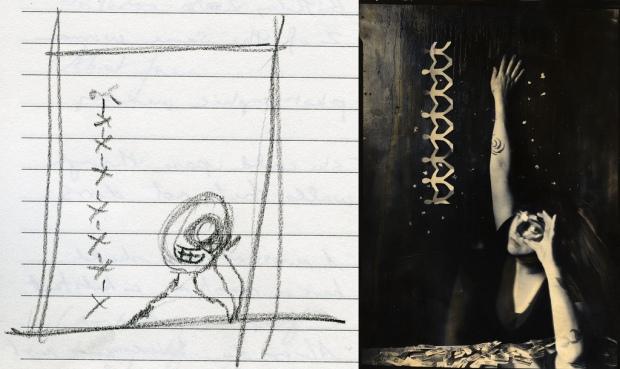 Sketch #1 by ©Lauren Simonutti
