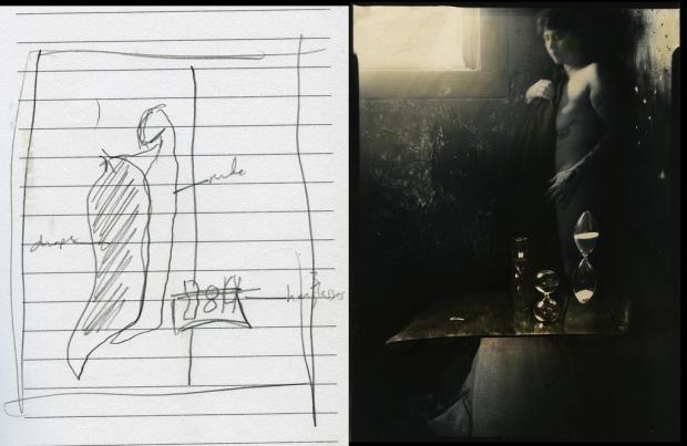 Sketch #4 by ©Lauren Simonutti