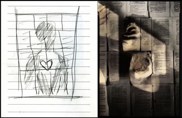 Sketch #5 by ©Lauren Simonutti