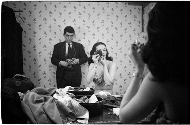 Stanley Kubrick, self portrait with Rosemary Williams, 1949