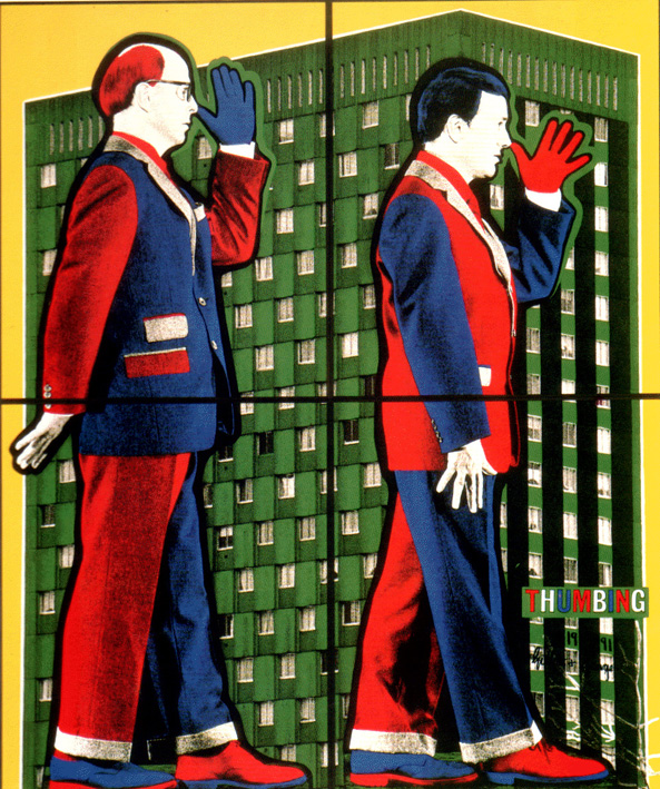 Thumbing, by ©Gilbert and George