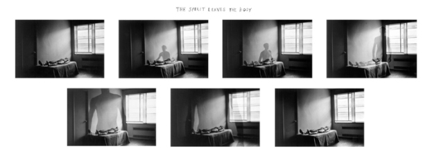 The Spirit Leaves the Body, by Duane Michals