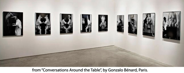 "Exhibition ""Conversations Around the Table"", by ©Gonzalo Bénard"