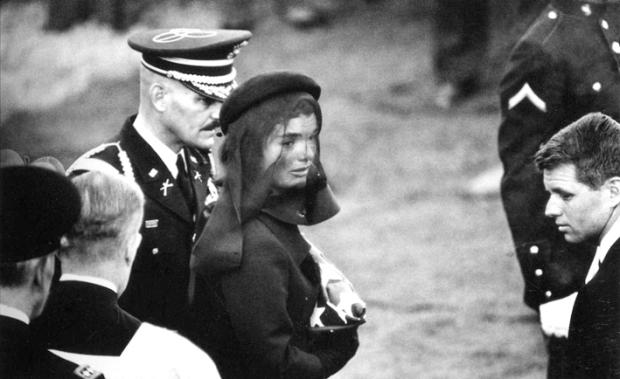 Jacqueline Kennedy at John F. Kennedy's funeral by ©Elliott Erwitt