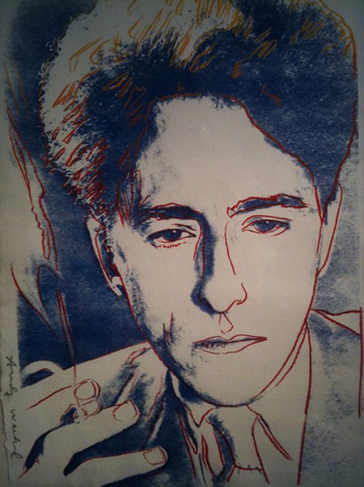 Jean Cocteau by Andy Warhol