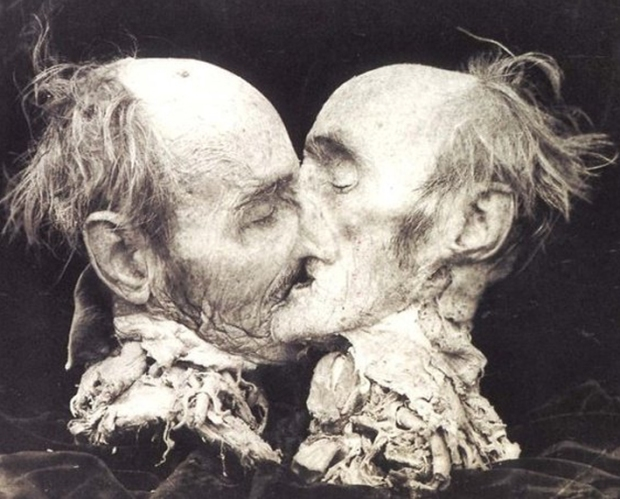 The Kiss, by ©Joel-Peter Witkin