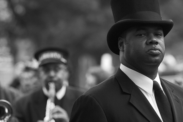 Man in Top Hat, by ©Derek B