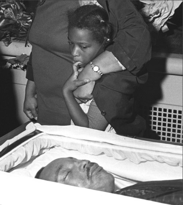 Martin Luther King Funeral, photographer unknown