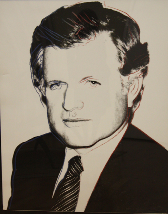Senator Edward Kennedy by Andy Warhol