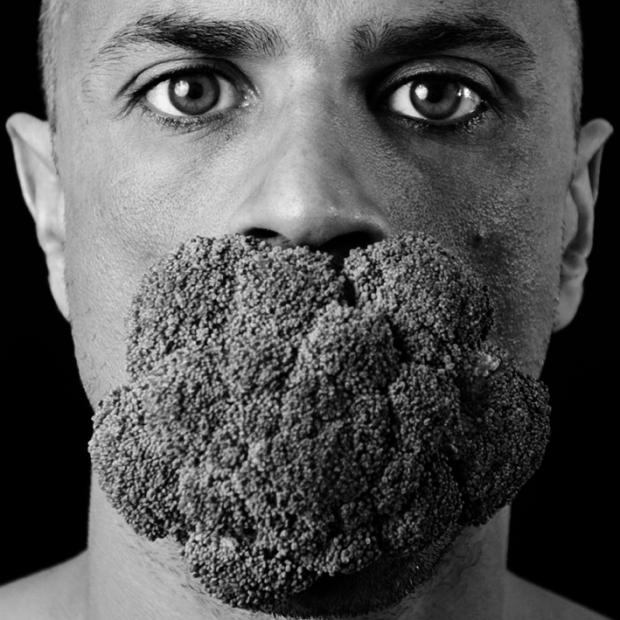 Brocoli Face, by ©Gonzalo Bénard