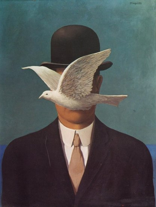 by Magritte