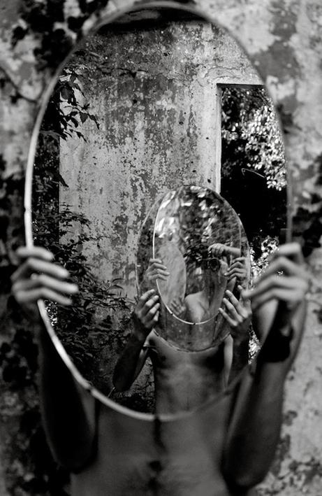 Magic Mirror (Self-Portrait), by Amiko Kavtaradze