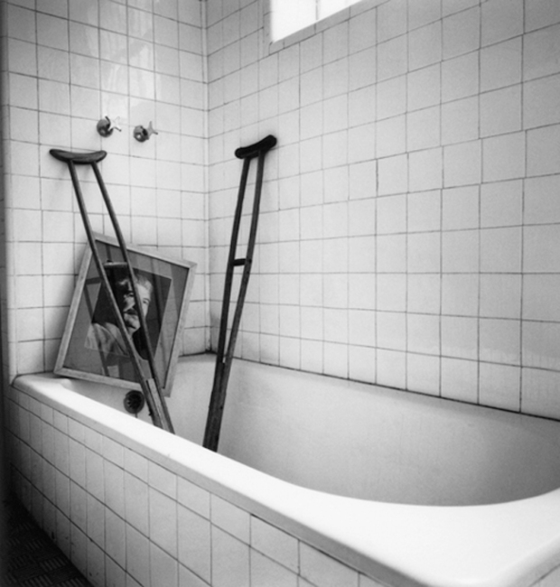 Frida's Bathroom by Graciela Iturbide