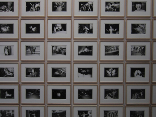 "162 pieces installation ""Past Tense"", 1970, by Nobuyoshi Araki"