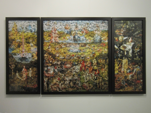 Garden Of Earthly Delights (after H. Bosch) 2008 by Vik Muniz