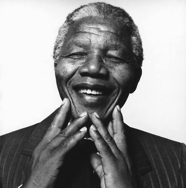 Nelson Mandela by Hans Gedda