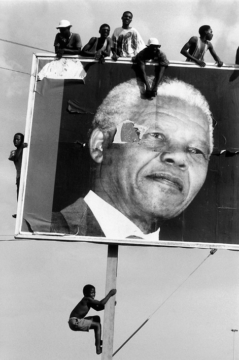 Photo by Ian Berry, South Africa, 1994