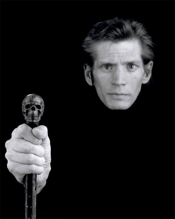 Robert Mapplethorpe - Self-Portrait, 1988
