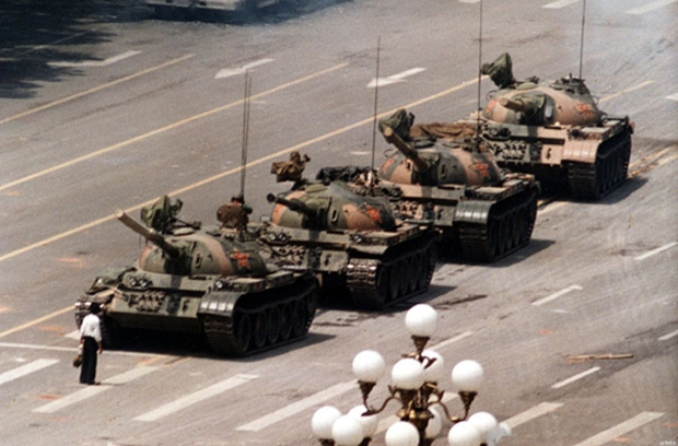 Beijing's Tiananmen Square,  June 5, 1989 by Jeff Widener
