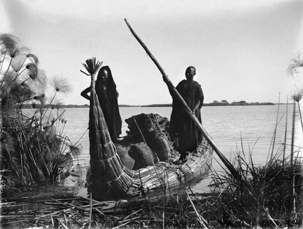 Lake Tchad 1926, by Marc Allégret