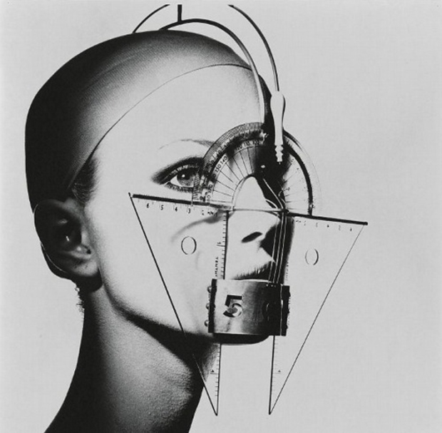 Protractor Face, 1917, by Irving Penn