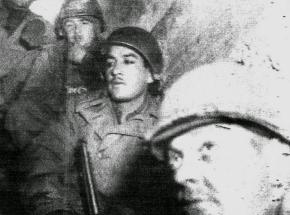 World War II battle by soldier Louis J. Archambeau