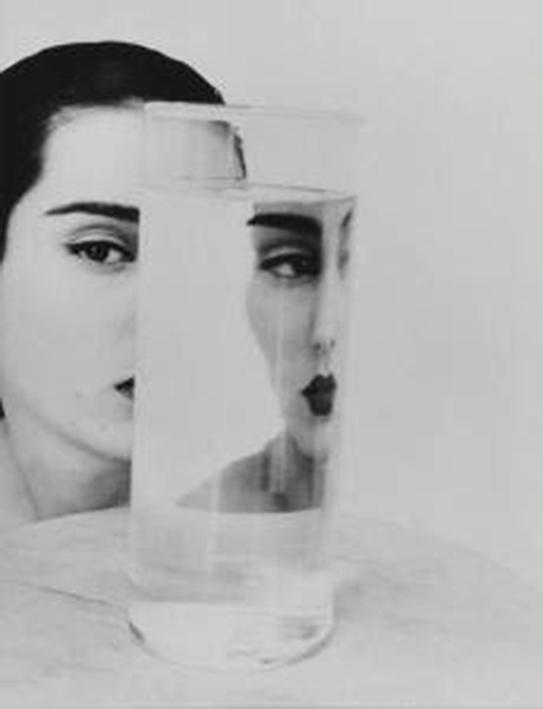 Femme et Verre, by David Seidner