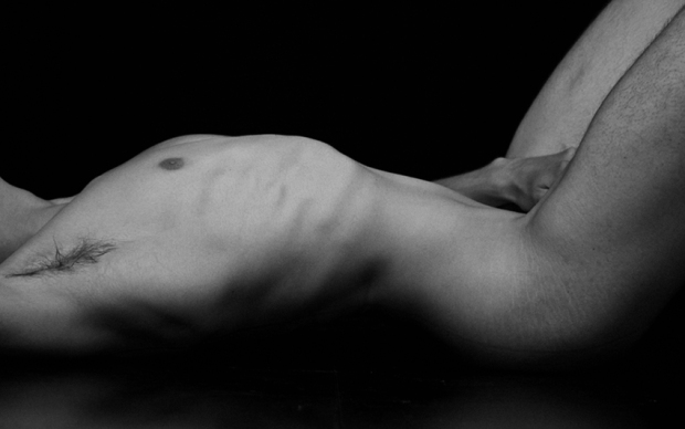 Floor Nude #13 by Gonzalo Bénard