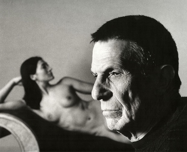 Leonard Nimoy Self-Portrait With Shek