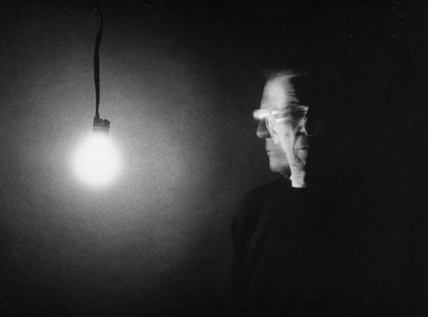 Leonard Nimoy Self-Portrait With Light Bulb
