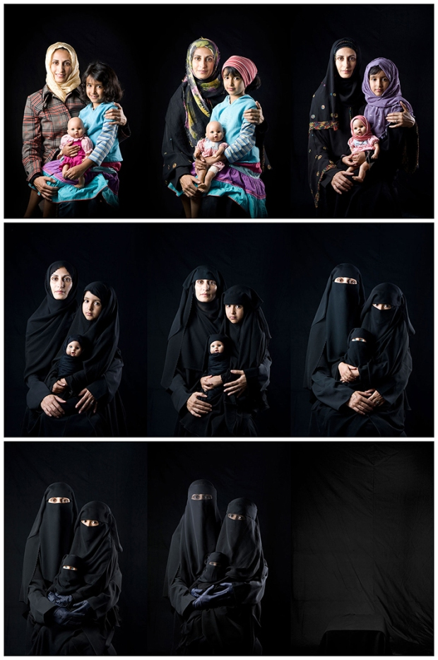 Boushra Almutawakel, Mother, Daughter, Doll series, 2010. Museum of Fine Arts, Boston