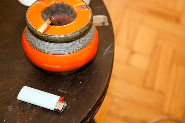 cig and lighter on the table